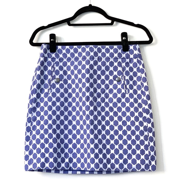 LOFT Dresses & Skirts - ANNE TAYLOR LOFT Hexagon Skirt